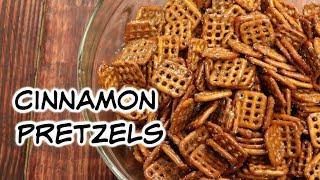 Super Easy Cinnamon Pretzels!
