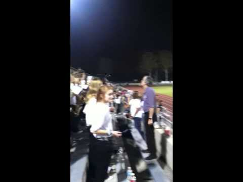 Hudson Middle School Band Football Game