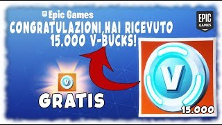 Comment RECEIVE 15,000 V-Bucks sur Fortnite Glitch TRAVAIL 100% 2019