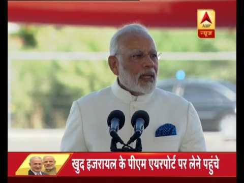 When PM Modi spoke in Hebrew language to begin his speech in Israel