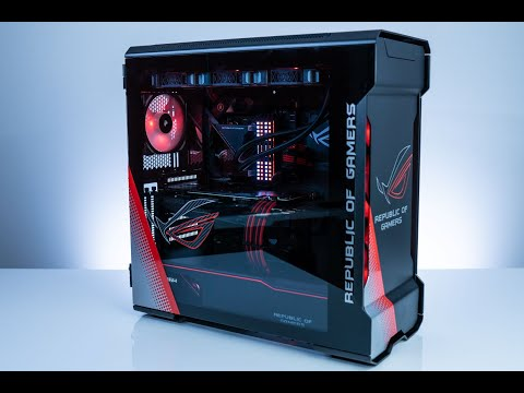 How to Build a PC  Robeytech Live  $6000 Build  Ryzen 3950x / 2080Ti in Evolv X