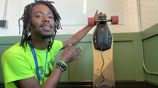Gambar cover Jermaine talk about your Electric Skateboard. with 3100 miles!