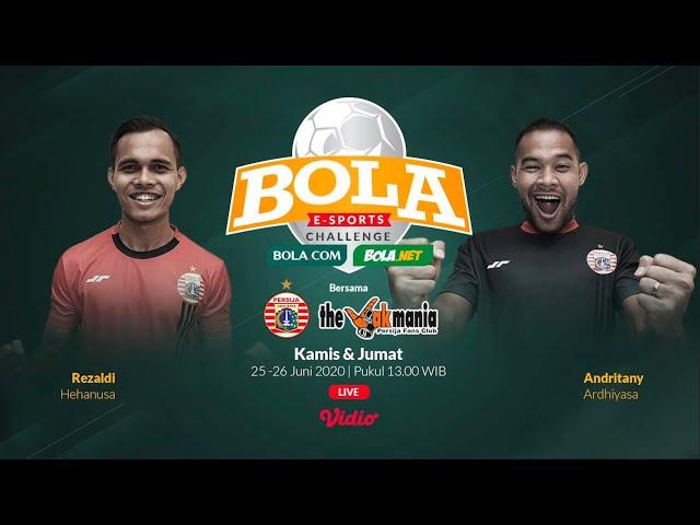 Duel Seru The Jakmania di Babak Penyisihan   Bola E-Sport Challenge