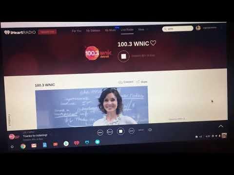 1003 WNIC Detroit Programming 1172018