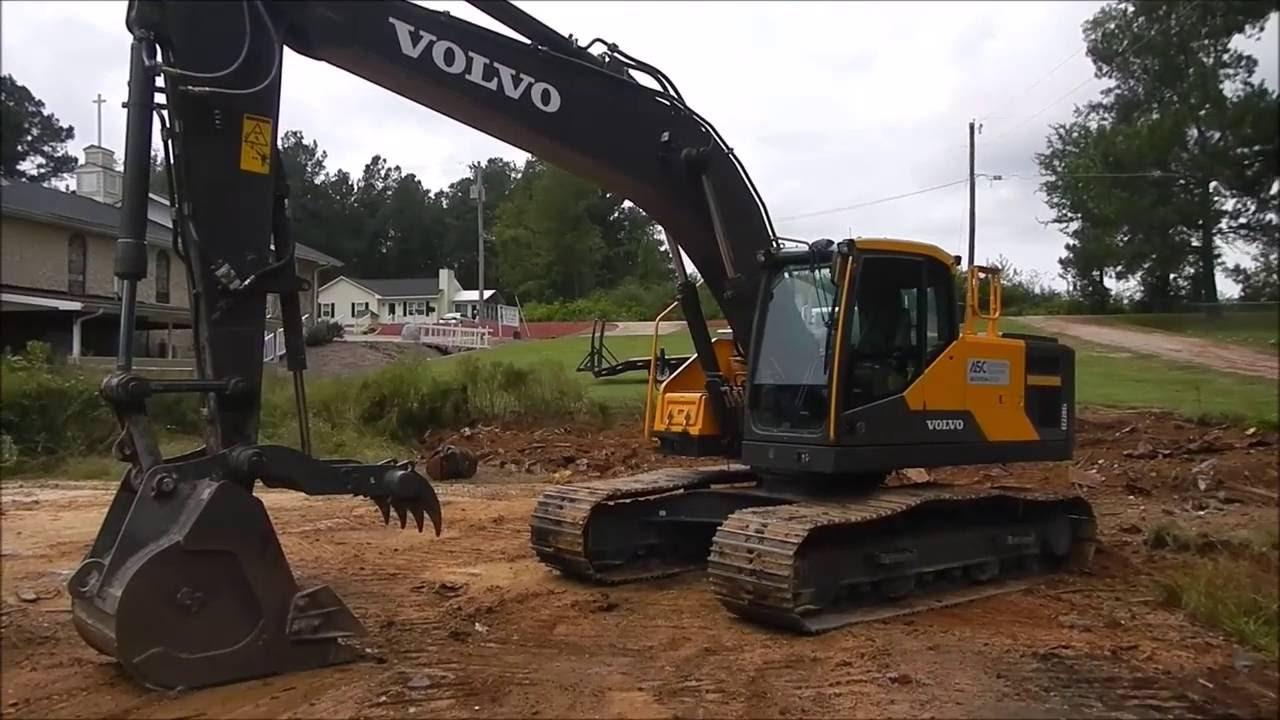 New Volvo 220el Excavator