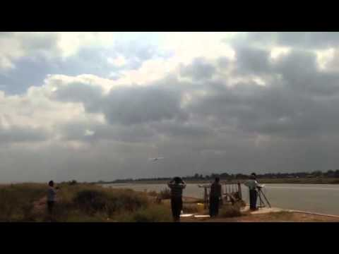 Panchi, a CTOL version of Nishant takes to the air