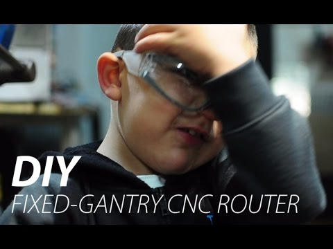 Fixed Gantry CNC Router Build   Part 1