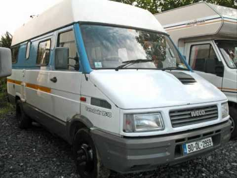 1990 iveco turbo daily 35 10 youtube. Black Bedroom Furniture Sets. Home Design Ideas