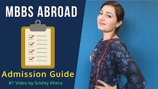 MBBS Abroad : Step by Step Process to Apply for MBBS Abroad