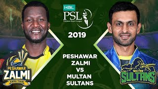 Match 14: Full Match Highlights Peshawar Zalmi vs Multan Sultans | HBL PSL 4 | HBL PSL 2019
