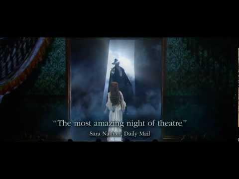 The Phantom of the Opera & Love Never Dies Exclusive DVD Box Set