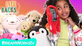 Stuffed Animal Hacks: Upcycle Your Stuffed Animals | LIFE HACKS FOR KIDS