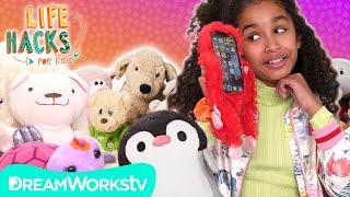 Stuffed Animal Hacks: Upcycle Your Stuffed Animals | LIFE HACKS FOR KIDS