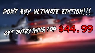 ONLY BUY THIS EDITION OF FORZA HORIZON 5 | GET EVERYTHING FOR ONLY $45 | FORZA HORIZON 5 EDITIONS