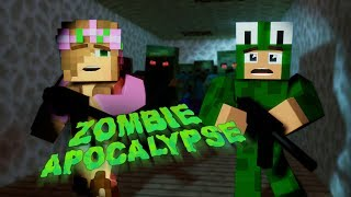 Zombie Apocalypse Challenge CAN I ESCAPE WITH LITLE KELLY