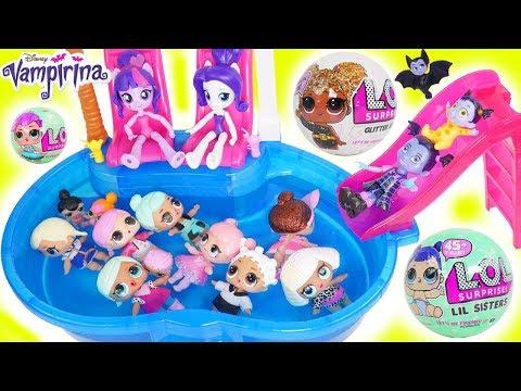 Dont Wake Vampirina Glitter My Little Pony Rarity Twilight Sparkle LOL Morning Barbie Pool Party!