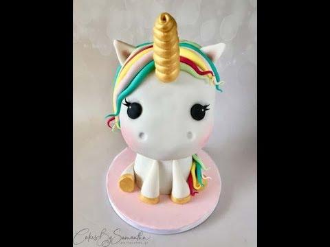 How To Make A 3d Unicorn Cake ά ύ