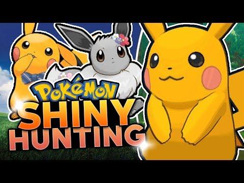 LIVE SHINY PIKACHU HUNTING! Pokemon Let's Go Pikachu & Let's Go Eevee Shiny Hunting