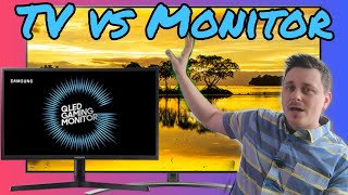 Should You Buy a Gaming Monitor or Gaming TV for Your Console?