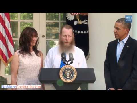 Bowe Bergdahl's father praises Allah at the White House