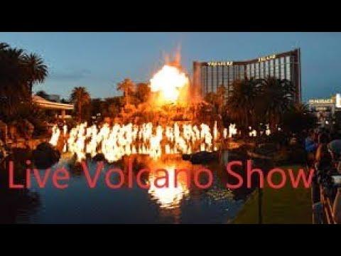 Treasure Island Hotel & Casino Las Vegas volcano