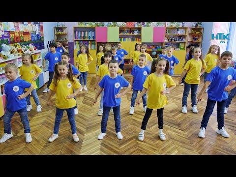 Телеканал НТК: Школярі Коломийського ліцею №5 долучилися до танцювального челенджу