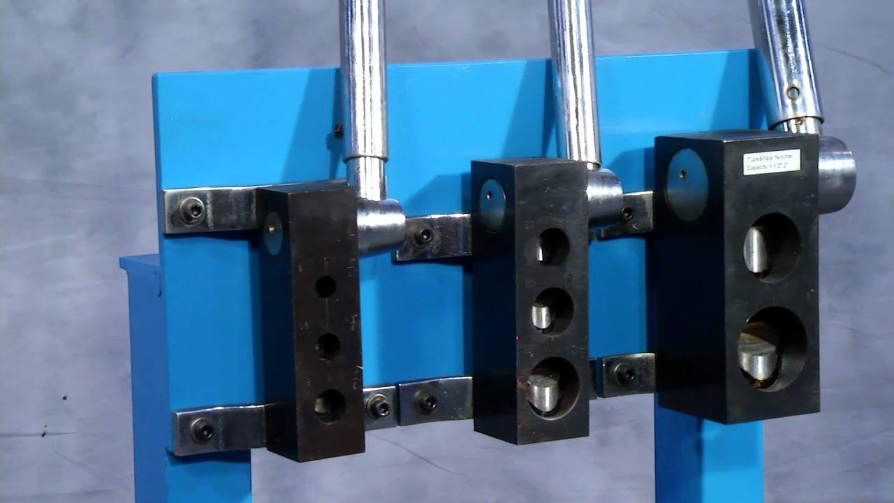 & Tube u0026 Pipe Notchers for Pipe Fabrication (WFN4 01) - YouTube