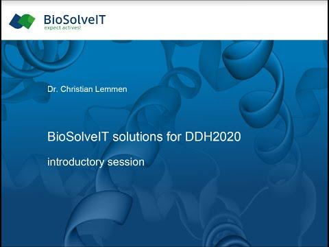 DDH 2020 Training vertical 3 by BioSolveIT