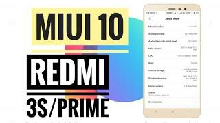 MiUi 10 Global Nightly Beta Rom    Redmi 3s/Prime