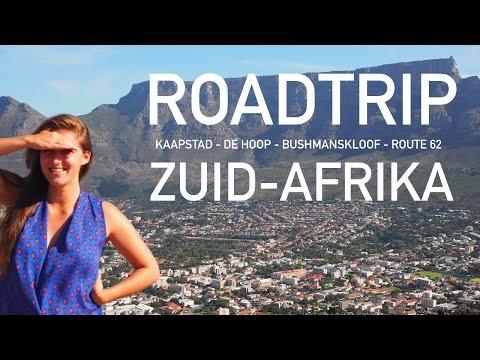 TRAVEL VLOG | Roadtrip van Kaapstad naar de rest van de Westkaap • Zuid-Afrika