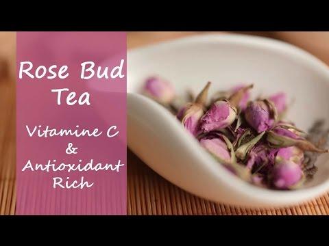 Rose Bud Tea - Pink Dried Rosebud Flower Tea For Healthy Skin ...