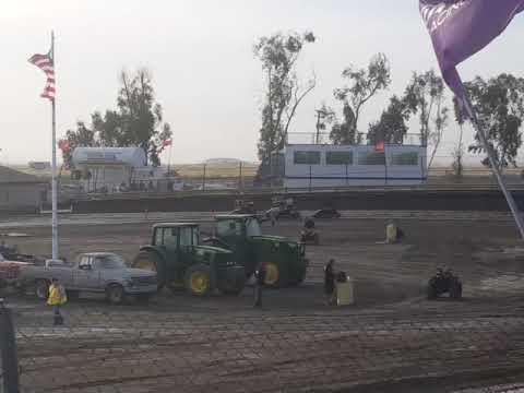 Lemoore Raceway KOFC Rd8 6-9-18 Jr Sprint Heat 2B Cash
