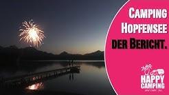Campingplatz Bericht Camping Hopfensee Allgäu | Happy Camping