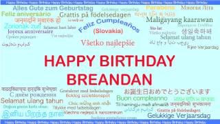 Breandan   Languages Idiomas - Happy Birthday