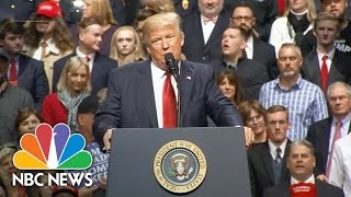 President Donald Trump Criticizes New Travel Ban Ruling | NBC News