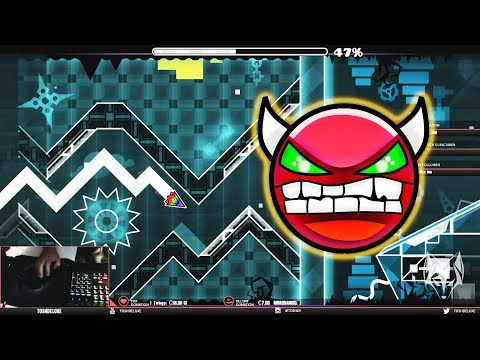 Infinitude [DEMON] 100% Complete - by Wod - Geometry Dash Gameplay (PC)