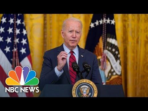 Live: Biden Delivers Remarks on Afghanistan | NBC News