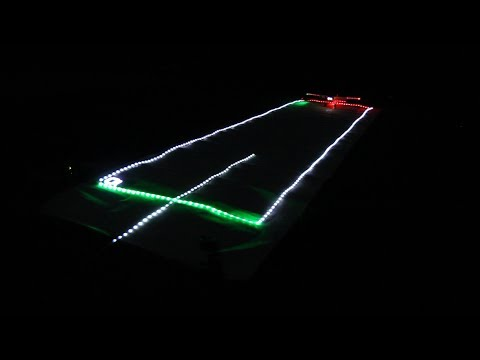 Christmas Runway Lights.Diy Model Runway Lighting
