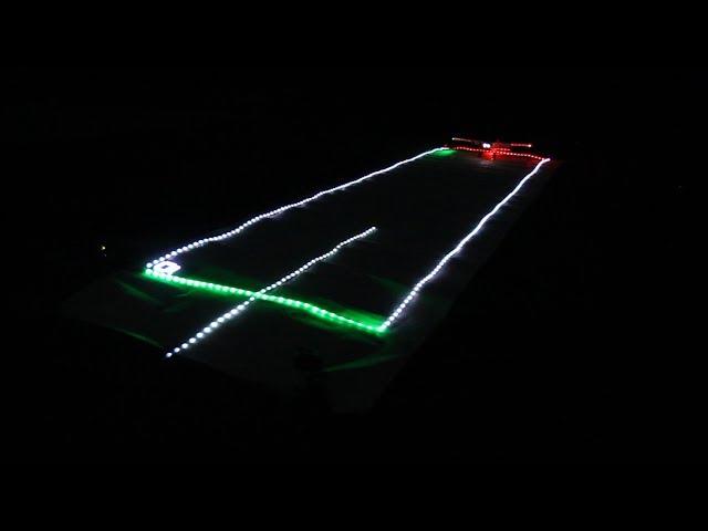 DIY model runway lighting