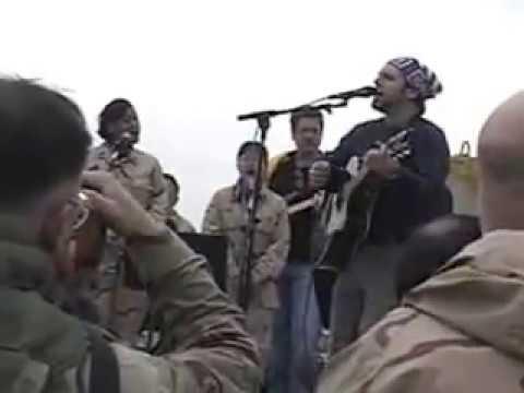 19DEC04 Abu Ghraib USO Show