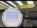 Подземный поезд в Шереметьево