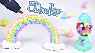 DRAWING IN 3D - 3Doodler Printing Pen Creations Tutorial - SoCraftastic