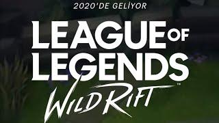 #LeagueofLegends: Wild Rift / LOL MOBILE HAKKINDA / NE ZAMAN ÇIKACAK? TEASER [TÜRKÇE TR]