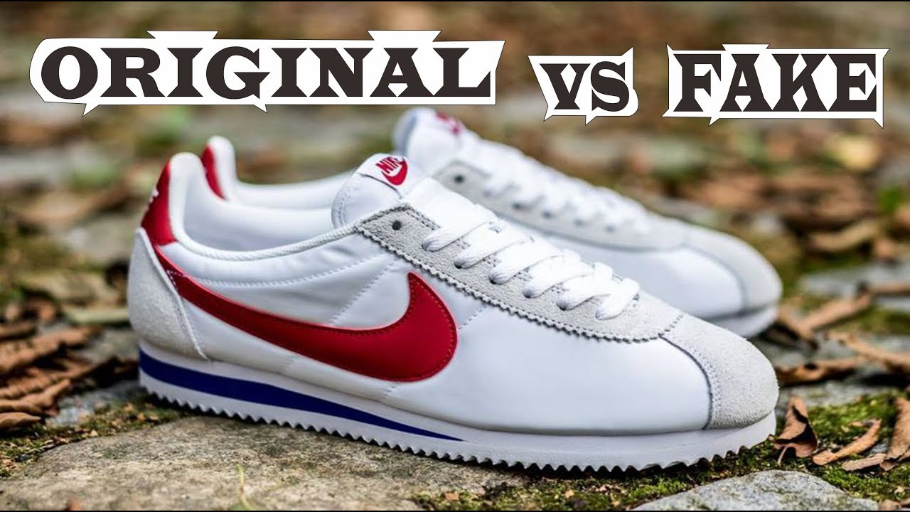 Nike Air Cortez Forrest Gump Original & Fake