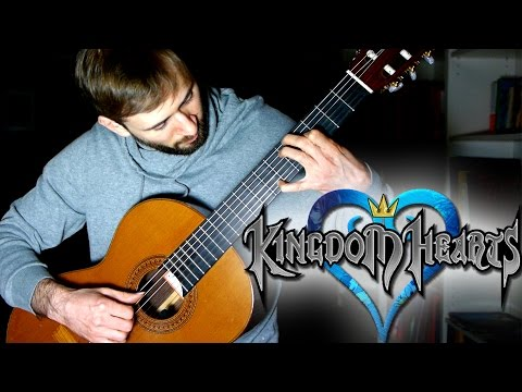 Kingdom Hearts Guitar Cover - Dearly Beloved - Sam Griffin
