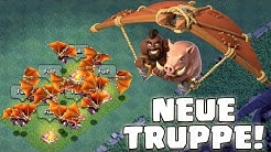 HOG GLIDER - NEUE TRUPPE! ☆ Clash of Clans UPDATE! ☆ CoC