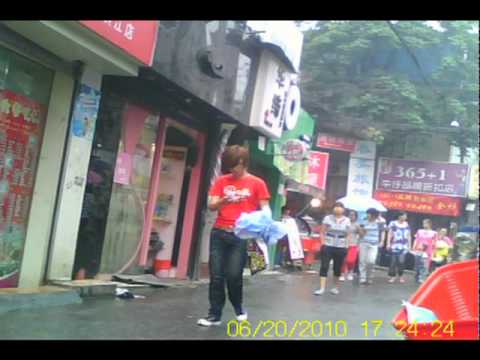 China street - University district - Hangzhou - Zhejiang province.mpeg