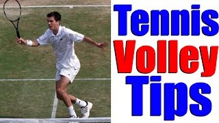 Tennis Volley Lesson - Improve Your Net Game