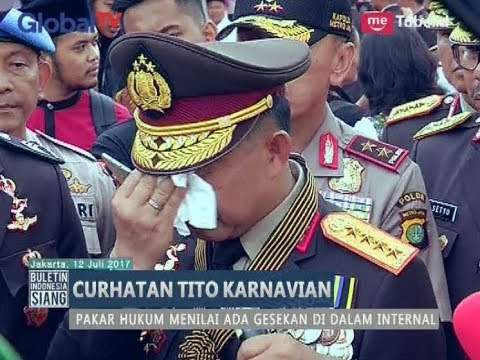 Curhatan Kapolri Tito Karnavian Tuai Berbagai Tanggapan Dari Berbagai Pihak - BIS 12/07