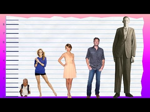 How Tall Is Carrie Underwood? - Height Comparison!